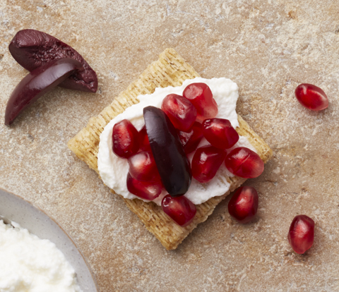 Mediterranean Ricotta Toppers Recipe