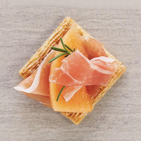 Prosciutto & Melon Toppers Recipe