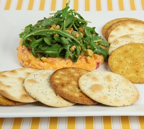 Pimiento & Cheese Spread with NABISCO ENTERTAINMENT Crackers Recipe
