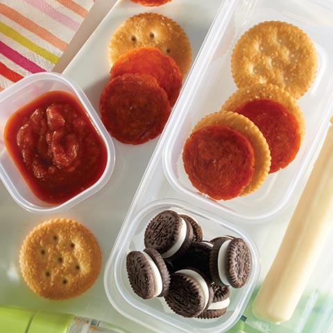 RITZ Pizza Lunch Box Recipe