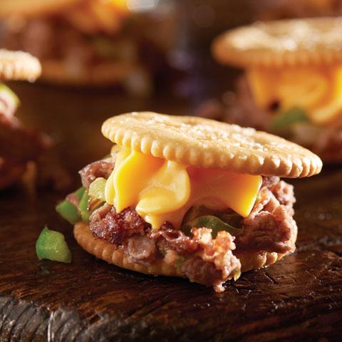 Cheese Steak RITZwich  Recipe