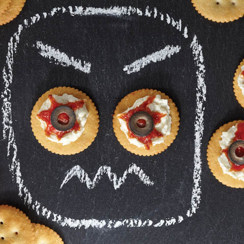 "RITZ ""Eyeballs"" Recipe"