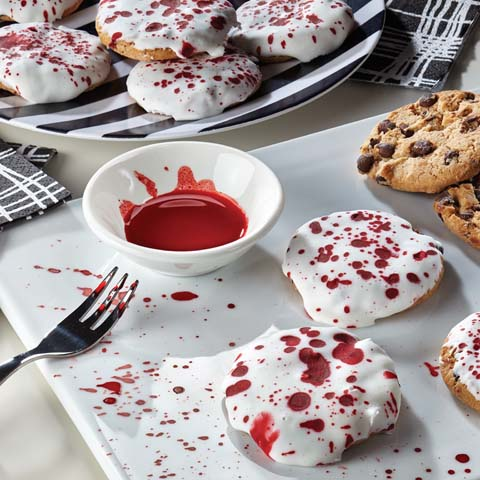 Dracula-Splattered CHIPS AHOY! Cookies Recipe