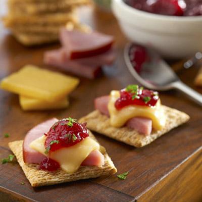 Ham & Gouda TRISCUIT Topper Recipe
