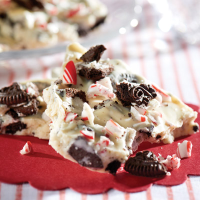 OREO Candy Cane Bark Recipe