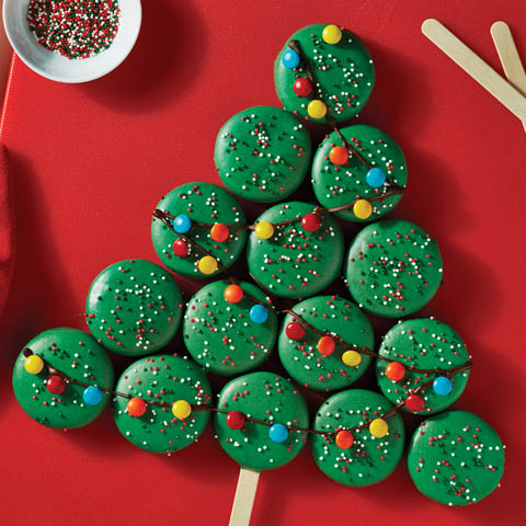 Holiday OREO Cookie Tree Recipe