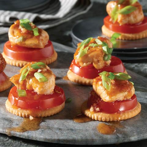 Honey-Sriracha Chicken Bites Recipe