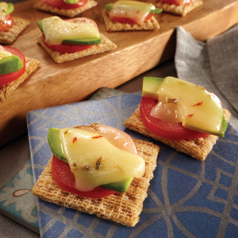 Avocado-Grilled Cheese Topper Recipe