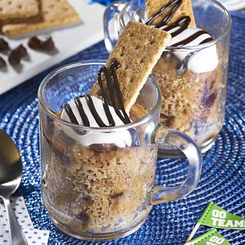 S'mores Mug Cake Recipe