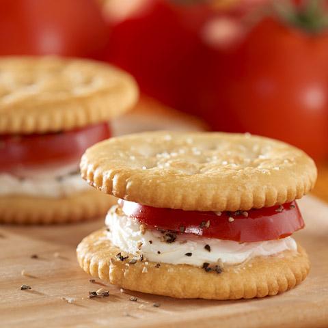 Cream Cheese and Tomato RITZwich Recipe