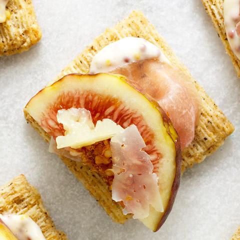 Prosciutto, Fig & Manchego Bites Recipe