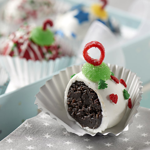 "Holiday ""Orna-Mint"" Cookie Balls Recipe"