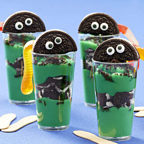OREO Dirt Cup Ghouls Recipe