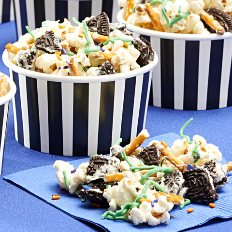 OREO Halloween Popcorn Treat Recipe