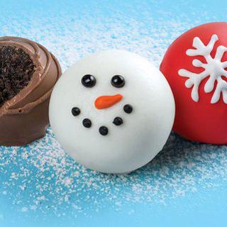 Holiday OREO Cookie Balls Recipe