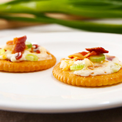 Cheesy Bacon RITZ Topper Recipe