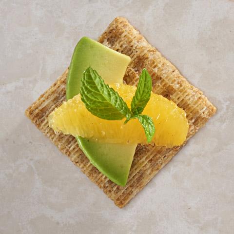 Minty Orange-Avocado Bites Recipe