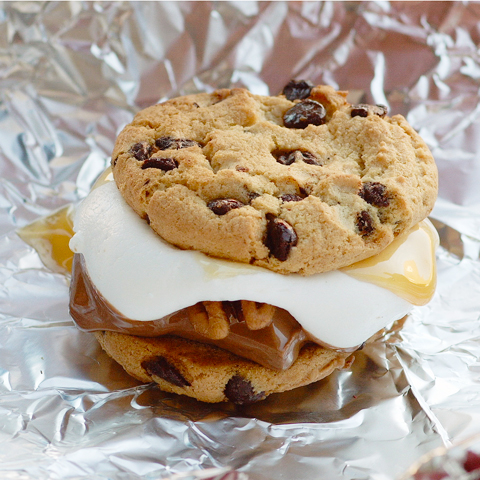 Caramel-Pecan CHIPS AHOY! S'mores Recipe