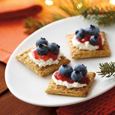 Double-Berry & Goat Cheese Topper Recipe