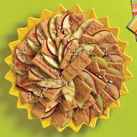 "HM Caramel Apple ""Nachos"" Recipe"