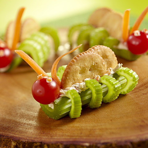 RITZ Caterpillars Recipe