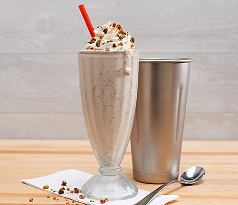 Malted Cookie Shake made with CHIPS AHOY! Cookies Recipe