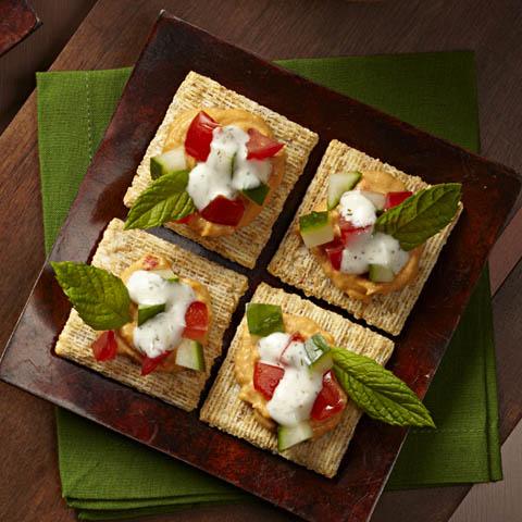 """""""Falafel"""" Salad Topper Recipe"""