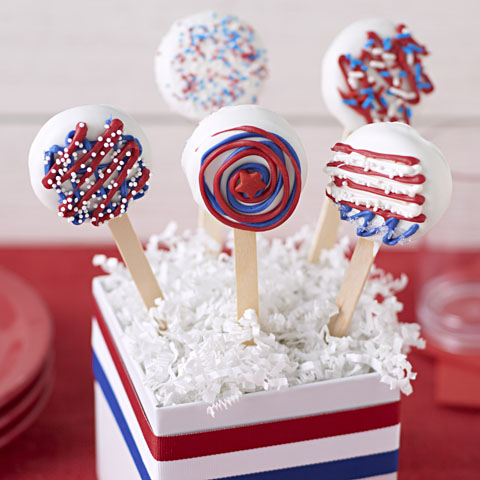 USA OREO Cookie Pops Recipe