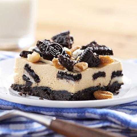 "OREO 'n Peanut Butter ""Cookie Dough"" Cheesecake Recipe"
