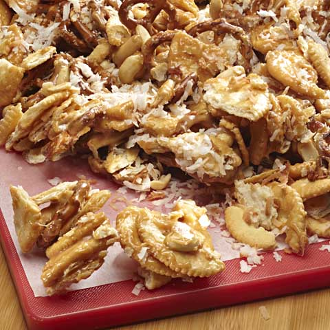 RITZ-Caramel Pretzel Mix Recipe