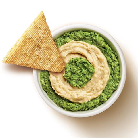 Pea Pesto & Hummus Dip Recipe