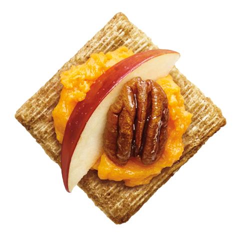 TRISCUIT avec garniture aux pommes et patate douce Recipe