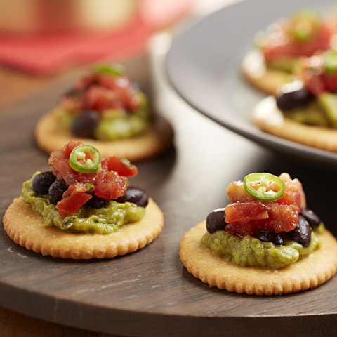 RITZ 4-Layer Mexican Toppers Recipe