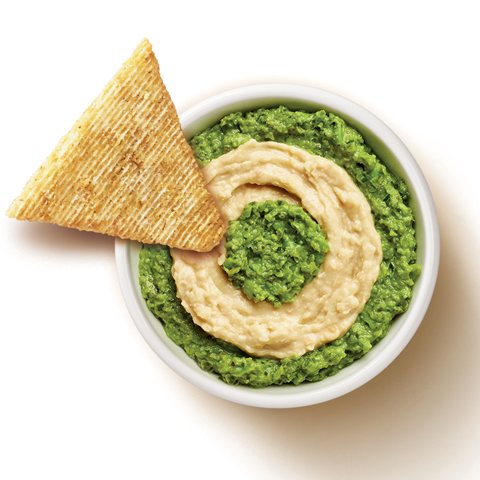 TRISCUIT Pea Pesto & Hummus Dip Recipe