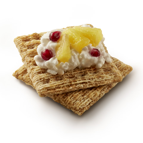 Cottage Cheese & Pineapple Snackers Recipe