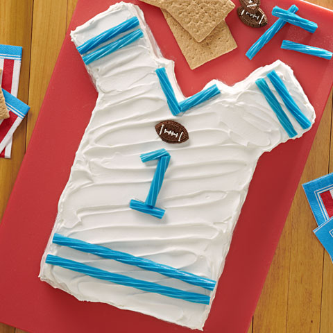 "HONEY MAID Football Jersey ""Cake"" Recipe"