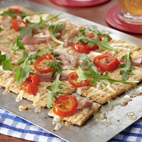 TRISCUIT Prosciutto & Arugula Pizza Recipe