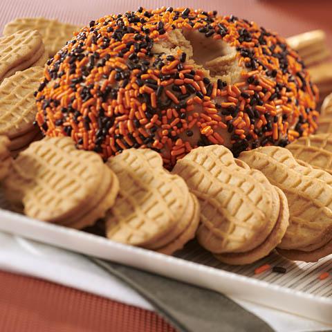 NUTTER BUTTER-Peanut Butter Sweet Cheese Ball Recipe