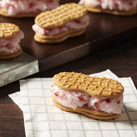 NUTTER BUTTER Ice Cream Sandwiches Recipe