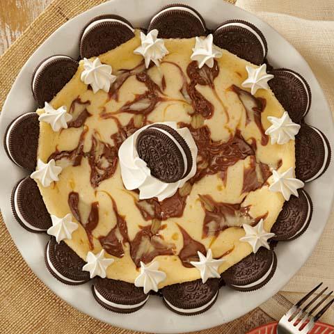 OREO Dulce de Leche Cheesecake Pie Recipe
