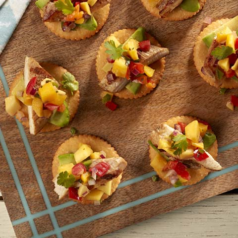 RITZ Grilled Mojo Chicken with Mango Salsa Recipe
