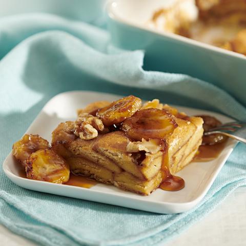 """NILLA Bananas Foster """"French Toast"""" Bake Recipe"""