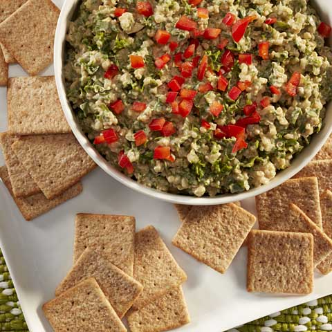 Spinach, Kale & Quinoa Dip Recipe
