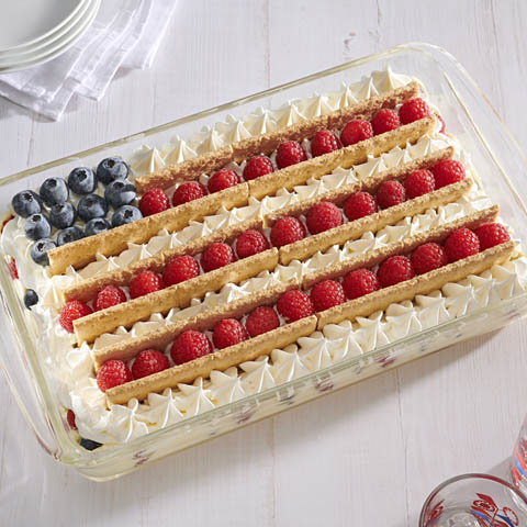 All-American Summer Berries Icebox Cake Recipe