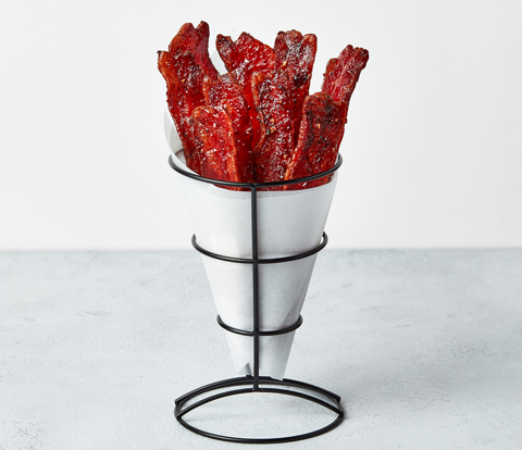 Candied Bacon with SOUR PATCH KIDS Variegate Recipe