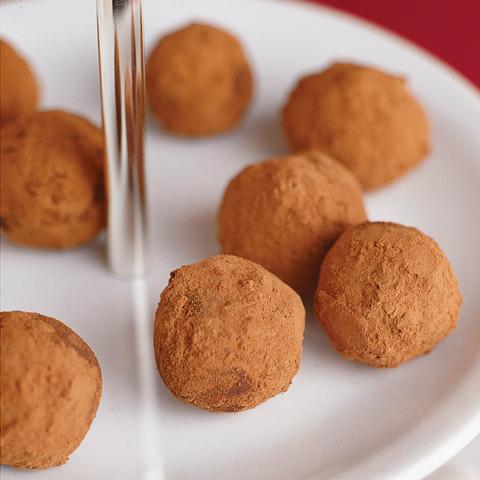 Truffes à la crème et au chocolat TOBLERONE recette