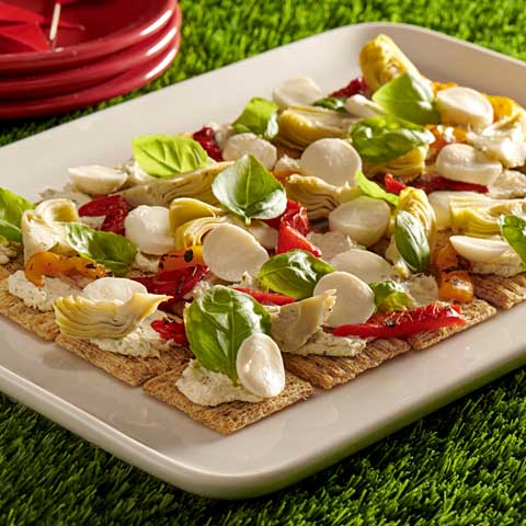 Antipasto TRISCUIT Flatbread Recipe