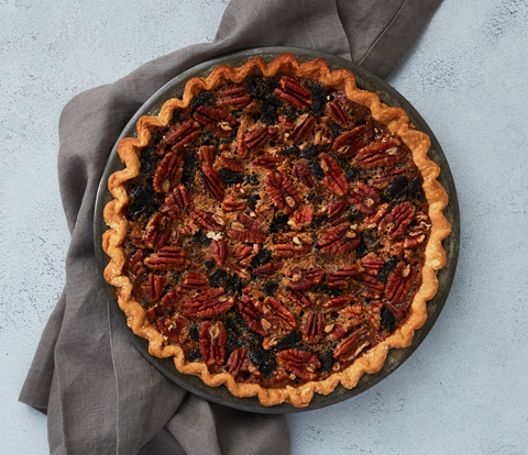 Pecan Pie made with OREO Cookie Pieces Recipe