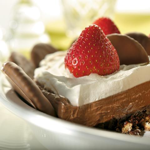 Triple-Layer Chocolate RITZ Pie Recipe