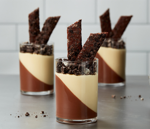 Chocolate Passion Fruit Mousse made with OREO Cookies Recipe